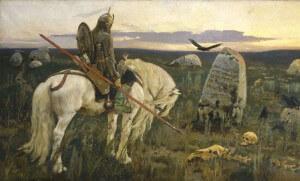 Картина Виктора Васнецова Витязь на распутье