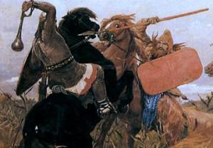 Васнецов, Битва скифов со славянами